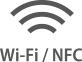 Wi-Fi  NFC