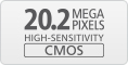 20.2 Megapixel CMOS