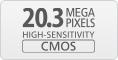 20.3MP CMOS