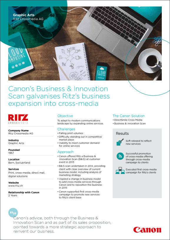 Ritz Case Study - Canon South Africa